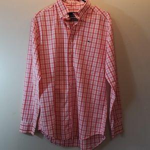 NWOT Vineyard Vines long sleeve button down shirt